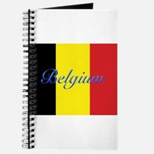 Belgium Flag Journal