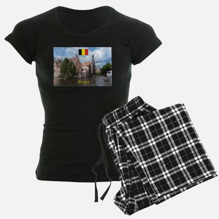 Stunning! Bruges canal pajamas