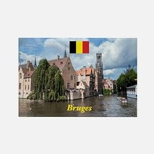 Stunning! Bruges canal Magnets