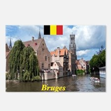 Stunning! Bruges canal Postcards (Package of 8)