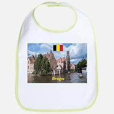 Stunning! Bruges canal Bib