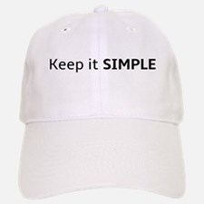 Keep it SIMPLE Baseball Baseball Baseball Cap