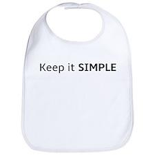 Keep it SIMPLE Bib