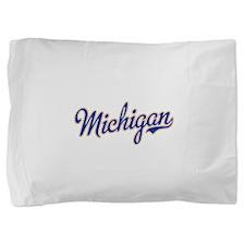 Michigan Script Font Pillow Sham
