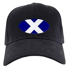 Square Scot Flag st Andrew Cross Baseball Hat