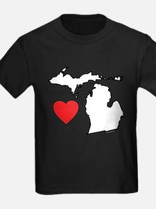 I Love Michigan T