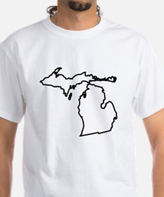 Michigan State Outline Shirt