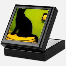 Toilet Cat Keepsake Box