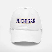 Michigan Jersey Blue Baseball Baseball Cap