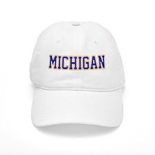 Michigan Jersey Blue Baseball Cap