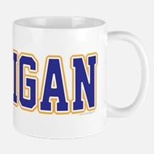 Michigan Jersey Blue Mug