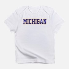 Michigan Jersey Blue Infant T-Shirt