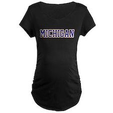 Michigan Jersey Blue T-Shirt