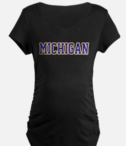 Michigan Jersey Blue T-Shirt