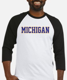 Michigan Jersey Blue Baseball Jersey