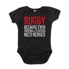 Rugby Football Heroes Baby Bodysuit