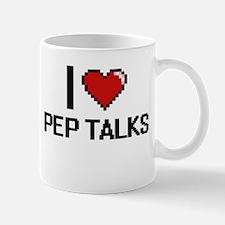 I Love Pep Talks Digital Design Mugs