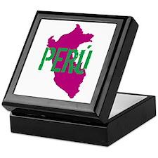 COLORFUL PERU - Keepsake Box