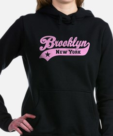 Brooklyn New York Women's Hooded Sweatshirt