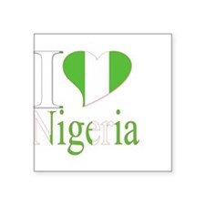 I love Nigeria Sticker