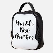 World's Best Brother Neoprene Lunch Bag