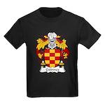 Godinez Family Crest Kids Dark T-Shirt