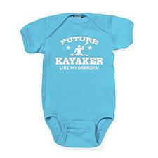 Future Kayaker Like My Grandpa Baby Bodysuit