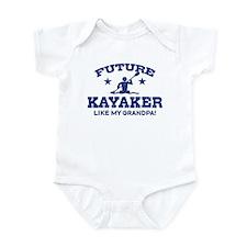 Future Kayaker Like My Grandpa Infant Bodysuit