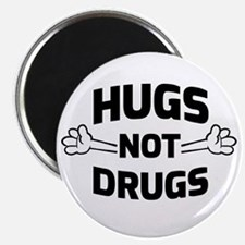 Hugs! Not Drugs Magnets