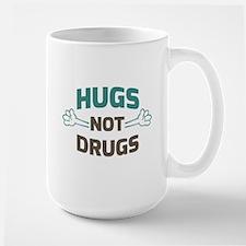 Hugs! Not Drugs Mugs