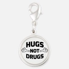 Hugs! Not Drugs Charms