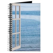 Ocean Scene Window Journal