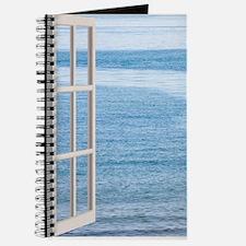 Ocean Scene Window Journal