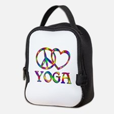 Peace Love Yoga Neoprene Lunch Bag