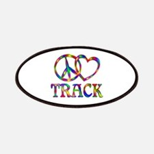 Peace Love Track Patch