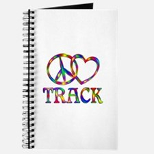 Peace Love Track Journal