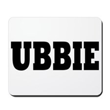 Ubbie, Rideshare Driver Guy Mousepad