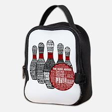 The Big Lebowski Pins Neoprene Lunch Bag