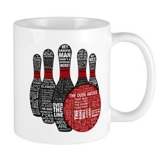 The Big Lebowski Pins Mug