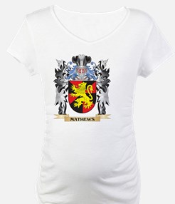 Mathews Coat of Arms - Family Cr Shirt