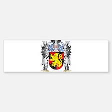 Mathew Coat of Arms - Family Crest Bumper Bumper Bumper Sticker