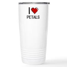 I Love Petals Digital D Travel Mug