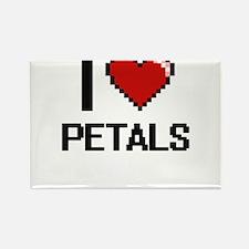 I Love Petals Digital Design Magnets