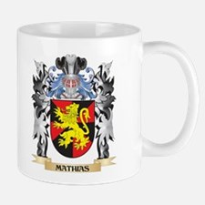 Mathias Coat of Arms - Family Crest Mugs