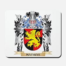 Mathias Coat of Arms - Family Crest Mousepad