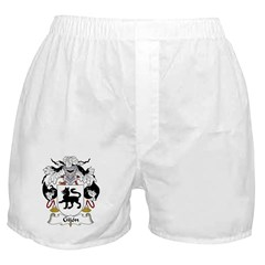 Gijon Family Crest Boxer Shorts