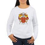 Gerino Family Crest Women's Long Sleeve T-Shirt