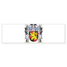 Matias Coat of Arms - Family Crest Bumper Bumper Bumper Sticker