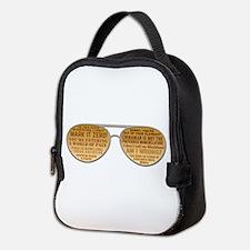 The Big Lebowski Glasses Neoprene Lunch Bag