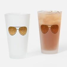 The Big Lebowski Glasses Drinking Glass